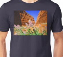 The Olgas Gorge. Uluru-Kata Tjuta National Park. Australia Unisex T-Shirt