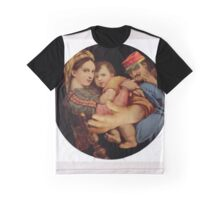 Madonna with Chair. Graphic T-Shirt