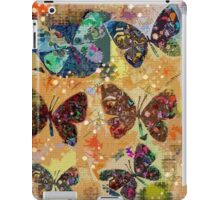 Butterflies in Spring Snowstorm iPad Case/Skin