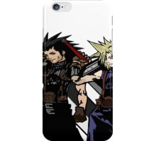 My Living Legacy: Zack Fair and Cloud Strife iPhone Case/Skin