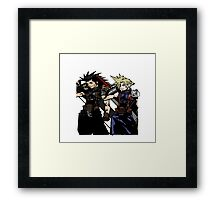 My Living Legacy: Zack Fair and Cloud Strife Framed Print