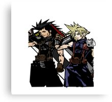 My Living Legacy: Zack Fair and Cloud Strife Canvas Print