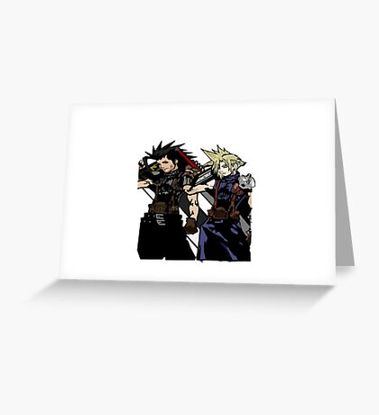 My Living Legacy: Zack Fair and Cloud Strife Greeting Card