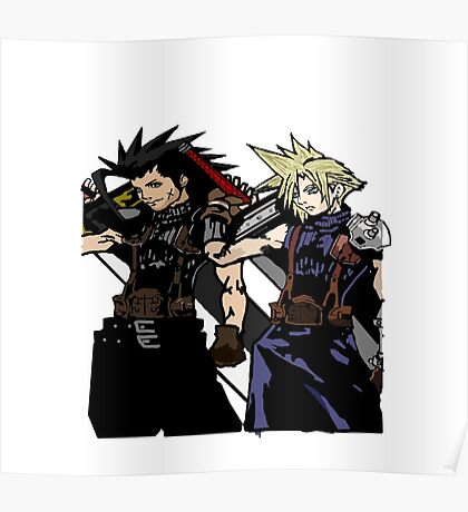 My Living Legacy: Zack Fair and Cloud Strife Poster