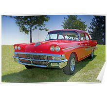 1958 Ford Fairlane Poster