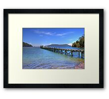 The Old Jetty - Limited Edition Print 2/10 Framed Print