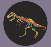 Tyrannosaurus Rex Skeleton Kids Tee