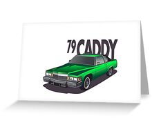 1979 Cadillac Coupe de Ville Greeting Card