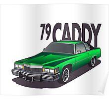 1979 Cadillac Coupe de Ville Poster