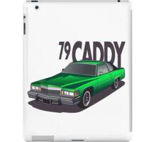 1979 Cadillac Coupe de Ville iPad Case/Skin