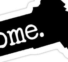 Massachusetts Home MA Sticker