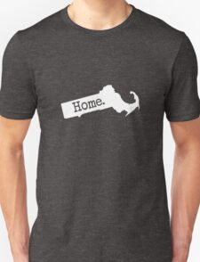 Massachusetts Home MA Unisex T-Shirt