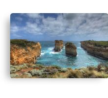Coastal Pillars - Limited Edition Prin 1/10 Canvas Print
