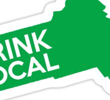 Massachusetts Drink Local MA Green Sticker