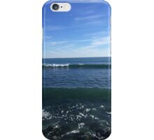 Newport Ocean shoreline iPhone Case/Skin