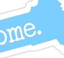 Massachusetts Home MA Blue Sticker