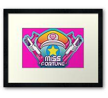 Miss Fortune Arcade Framed Print