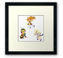 Chrono Trigger Girls Framed Print
