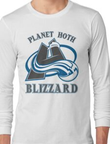 Planet Hoth Blizzard Long Sleeve T-Shirt