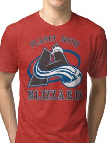 Planet Hoth Blizzard Tri-blend T-Shirt