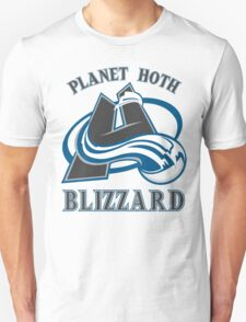 Planet Hoth Blizzard Unisex T-Shirt