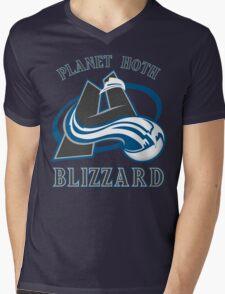 Planet Hoth Blizzard Mens V-Neck T-Shirt