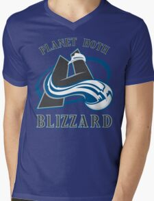 Planet Hoth Blizzard Mens V-Neck T-Shirt