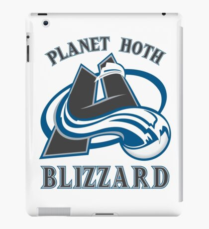 Planet Hoth Blizzard iPad Case/Skin