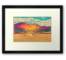Dull To Pause. Framed Print