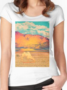 Dull To Pause. Women's Fitted Scoop T-Shirt