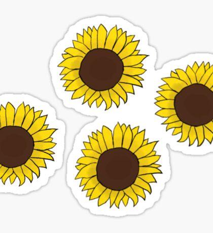 Small Sunflowers Sticker