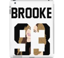 "Brooke'93 ""Face"" Jersey iPad Case/Skin"