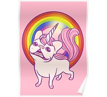 The Unicorn Frenchie Poster