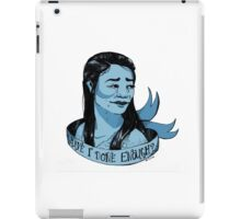 Eliza Ribbon Portrait iPad Case/Skin