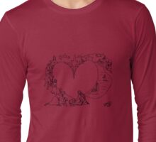 Wrapped in the arms of His love Long Sleeve T-Shirt