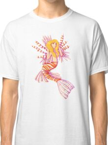 Lionfish Mermaid Classic T-Shirt