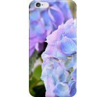 Purple Blue Hydrangeas iPhone Case/Skin