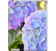 Purple Blue Hydrangeas iPad Case/Skin