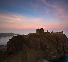 Dunnottar at Dusk by Roddy Atkinson