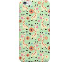 Spring Giraffe Pattern iPhone Case/Skin