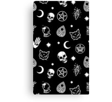 Witch Pattern Canvas Print