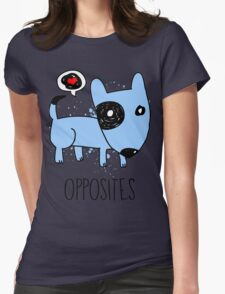 [Men] Opposites Attract Womens Fitted T-Shirt