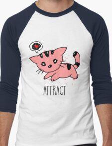 [Women] Opposites Attract Men's Baseball ¾ T-Shirt