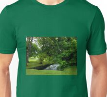 Little Stream in Lews Castle Grounds Unisex T-Shirt