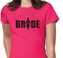 Bride (Black Print) Womens Fitted T-Shirt