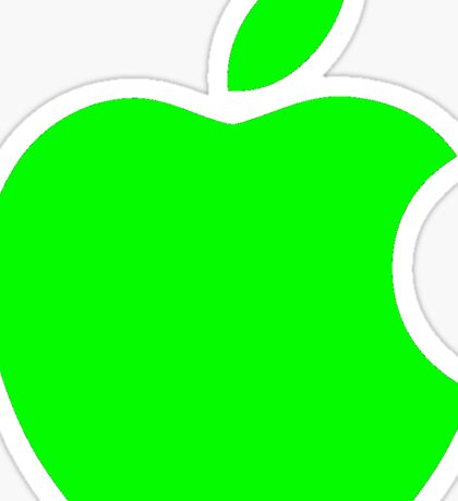 Green Apple Logo Sticker