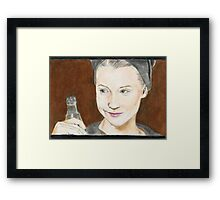 Lawless Mia Framed Print