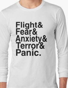 I am Flight - Mr Robot Long Sleeve T-Shirt