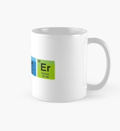 Teacher Spelled with Periodic Table Symbols Mug