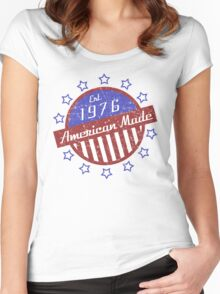 1976 American Made Women's Fitted Scoop T-Shirt